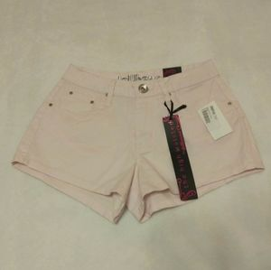 Dollhouse High Waisted Pink Shorts Size 1 NWT
